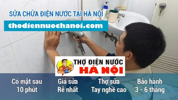 Thợ sửa điện nước tại Hà Nội